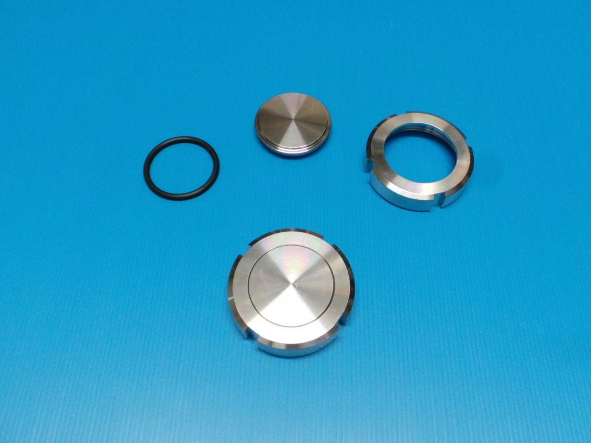 DN65 Set blind kegelstuk RVS 316 (V4A) AISI316 DIN11851 EPDM - 10859STPBLEP65