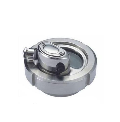 DN100 Kijkglas met gehard glas RVS 304 (V2A) AISI304 met LED verlichting 24V/2W - KG11227NLED100