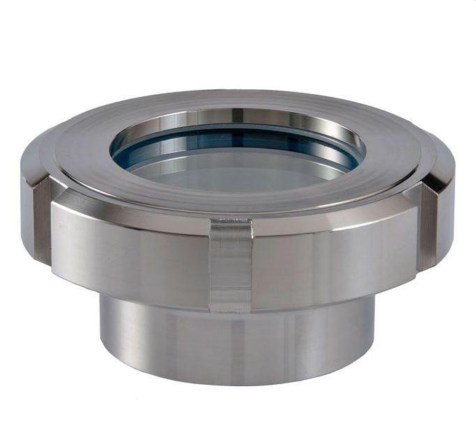 DN100 Kijkglas met gehard glas RVS 304 (V2A) AISI304 - KG11228N100